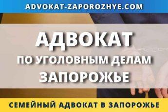 Адвокат по уголовным делам Запорожье