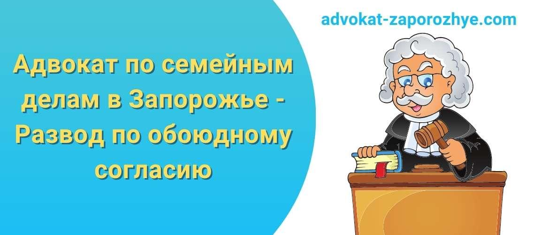 Адвокат по семейным делам в Запорожье